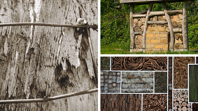 Bee Walls & Insect Hotels: Habitat Inspiration