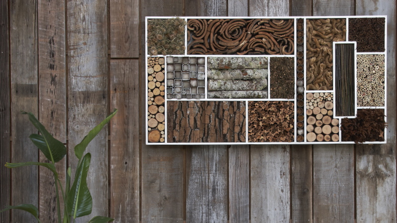 Bee Walls Amp Insect Hotels Habitat Inspiration Pass The