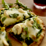 Spinach & Curry Pizza