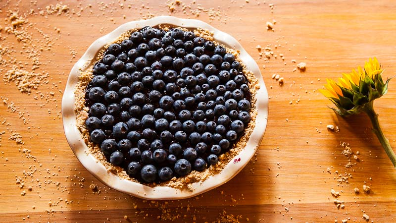 How to Make the Best Ever Blueberry Pie