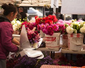 Flower Revival: West Seattle Farmers Market