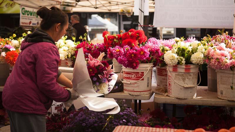 Flower Revival: West Seattle Farmers Market. Emily Murphy & Pass the Pistil.