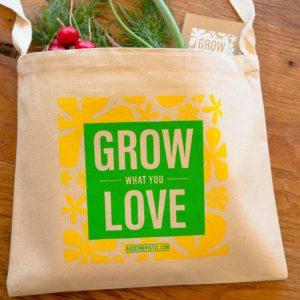 Grow What You Love Messenger Bag